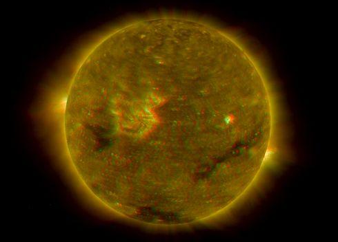 STEREO Sol en 3D