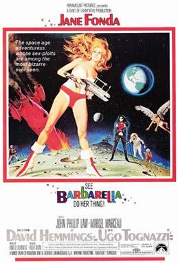 Poster Barbarella (1968)