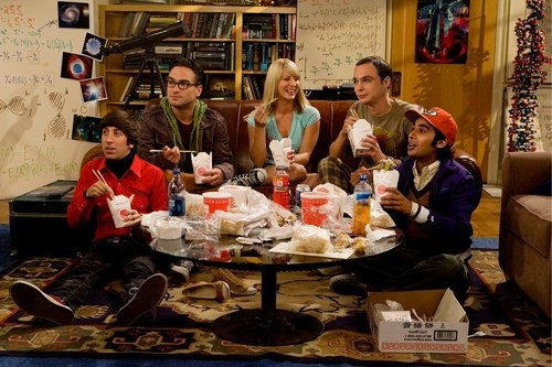 The Big Bang Theory en Twitter