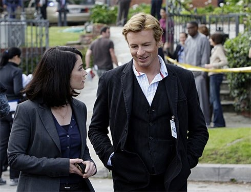 The Mentalist, escena del primer episodio.